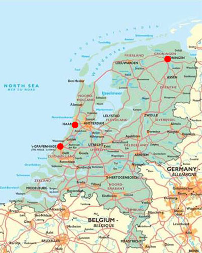 Locaties in Nederland